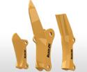 齿,柄和防护装置
