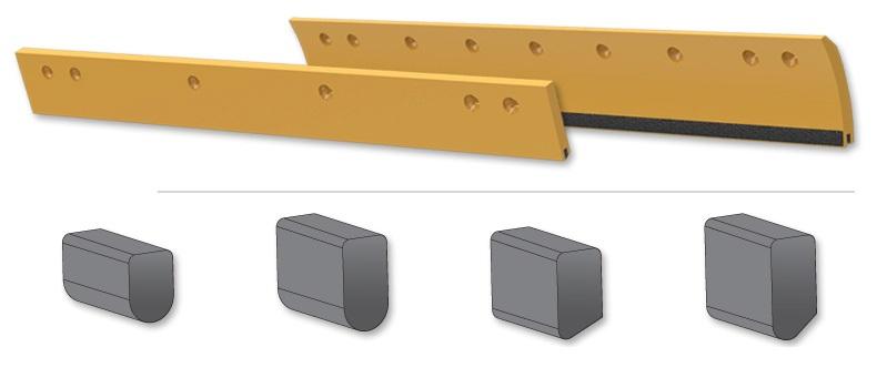 刀板- 镶嵌硬质合金
